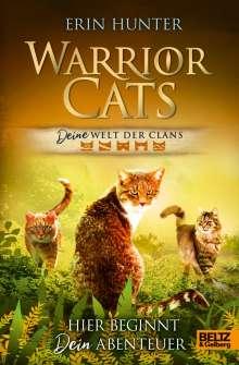 Erin Hunter: Warrior Cats - DEINE Welt der Clans., Buch