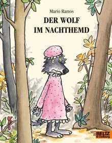 Mario Ramos: Der Wolf im Nachthemd, Buch