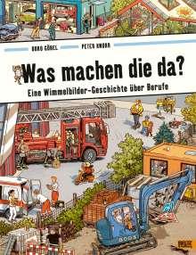 Doro Göbel: Was machen die da?, Buch