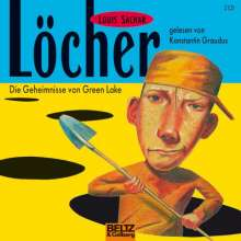 Louis Sachar: Löcher, 3 CDs
