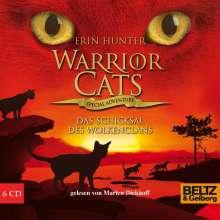 Erin Hunter: Warrior Cats - Special Adventure. Das Schicksal des WolkenClans, 6 CDs