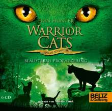 Erin Hunter: Warrior Cats - Special Adventure. Blausterns Prophezeiung, 6 CDs