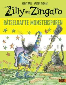 Korky Paul: Zilly und Zingaro. Rätselhafte Monsterspuren, Buch