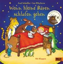 Axel Scheffler: Wenn kleine Bären schlafen gehen, Buch