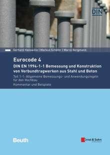 Marco Bergmann: Eurocode 4 - DIN EN 1994-1-1 Bemessung und Konstruktion von Verbundtragwerken aus Stahl und Beton, Buch