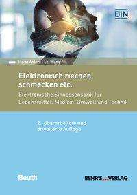 Horst Ahlers: Elektronisch riechen, schmecken etc., Buch