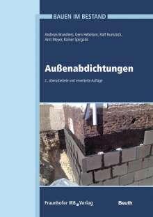 Andreas Brundiers: Bauen im Bestand - Außenabdichtungen, Buch