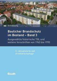 Gerd Geburtig: Baulicher Brandschutz im Bestand, Buch