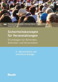 Michael Ebner: Sicherheitskonzepte für Veranstaltungen, Buch