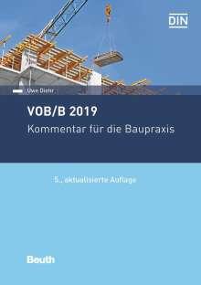Uwe Diehr: Vob/B 2019, Buch