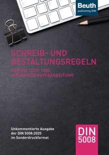 Schreib- und Gestaltungsregeln für die Text- und Informationsverarbeitung, Buch