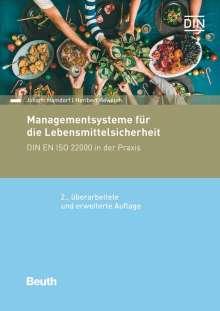 Johann Hamdorf: Managementsysteme für die Lebensmittelsicherheit, Buch