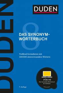 Duden - Das Synonymwörterbuch, Buch