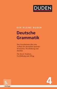 Rudolf Hoberg: Der kleine Duden - Deutsche Grammatik, Buch
