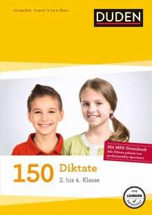 Alexandra Thiel: 150 Diktate (2. bis 4. Klasse), Buch