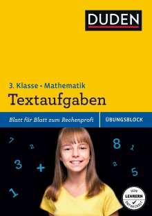 Ute Müller-Wolfangel: Übungsblock: Mathematik - Textaufgaben 3. Klasse, Buch