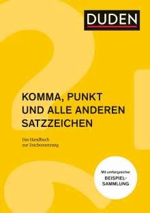 Anja Steinhauer: Komma, Punkt und alle anderen Satzzeichen, Buch