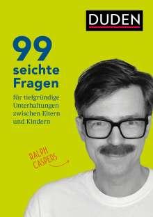 Ralph Caspers: 99 seichte Fragen für tiefgründige Unterhaltungen zwischen Eltern und Kindern, Buch