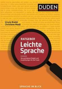 Ursula Bredel: Ratgeber Leichte Sprache, Buch