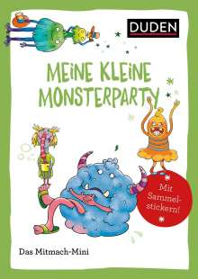 Andrea Weller-Essers: Duden Minis (Band 44) - Meine kleine Monsterparty / VE mit 3 Exemplaren, Buch