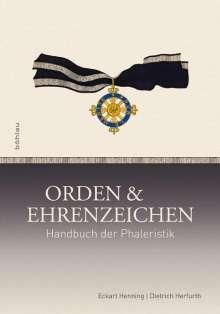 Eckart Henning: Orden und Ehrenzeichen, Buch