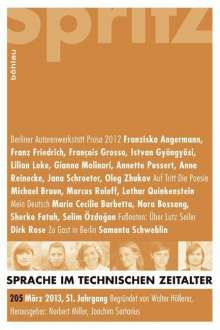 Sprache im technischen Zeitalter. H.205, Buch