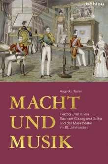 Angelika Tasler: Macht und Musik, Buch