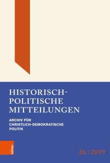 Historisch-politische Mitteilungen, Buch