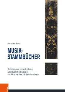 Henrike Rost: Musik-Stammbücher, Buch