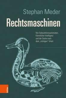 Stephan Meder: Rechtsmaschinen, Buch