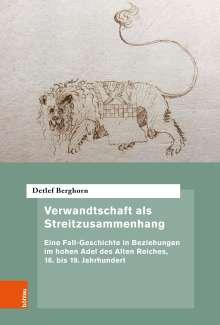 Detlef Berghorn: Verwandtschaft als Streitzusammenhang, Buch