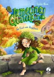 Lydia Ruwe: Irmelina Geisterkind - Der Fluch vom Ringelbach, Buch