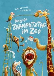 Sophie Schoenwald: Der große Zahnputztag im Zoo (Mini-Ausgabe), Buch