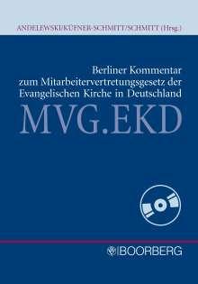 Utz  Aeneas Andelewski: Berliner Kommentar zum Mitarbeitervertretungsgesetz der EKD, Buch