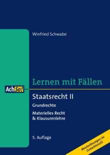 Winfried Schwabe: Staatsrecht II Grundrechte, Buch