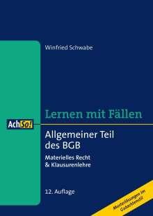 Winfried Schwabe: Allgemeiner Teil des BGB, Buch