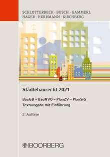 Städtebaurecht 2021, Buch
