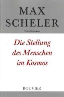 Max Scheler: Die Stellung des Menschen im Kosmos, Buch