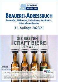 Brauerei-Adressbuch 2020/2021, Buch