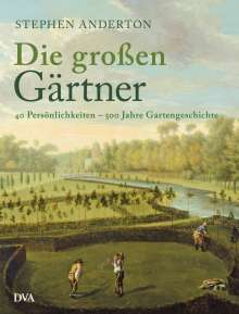 Steven Anderton: Die großen Gärtner, Buch