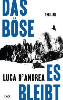 Luca D'Andrea: Das Böse, es bleibt, Buch