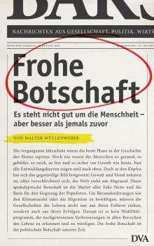 Walter Wüllenweber: Frohe Botschaft, Buch