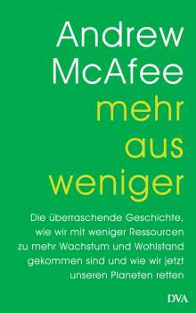 Andrew McAfee: Mehr aus weniger, Buch