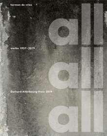 herman de vries, all all all - Werke 1957-2019, Buch