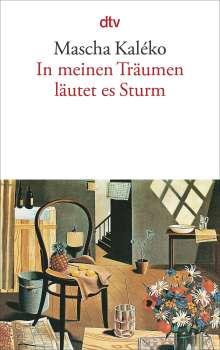 Mascha Kaléko: In meinen Träumen läutet es Sturm, Buch