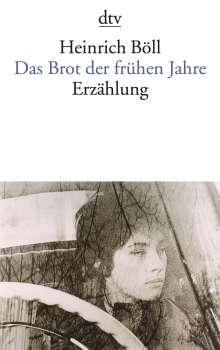 Heinrich Böll: Das Brot der frühen Jahre, Buch