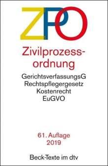 Zivilprozessordnung - ZPO, Buch