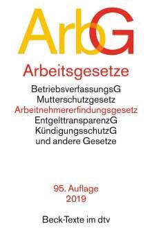 Arbeitsgesetze (ArbG), Buch
