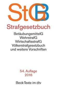Thomas Weigend: Strafgesetzbuch (StGB), Buch