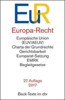 Europa-Recht, Buch